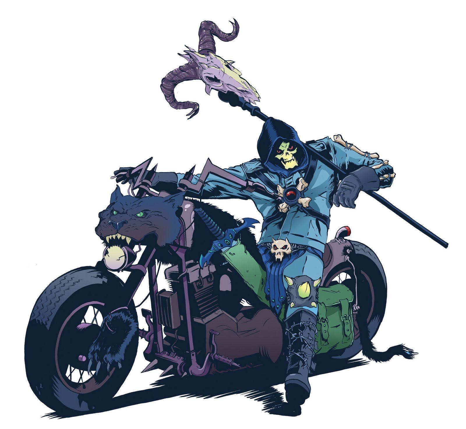 The Flying Bloghouse: Skeletor!