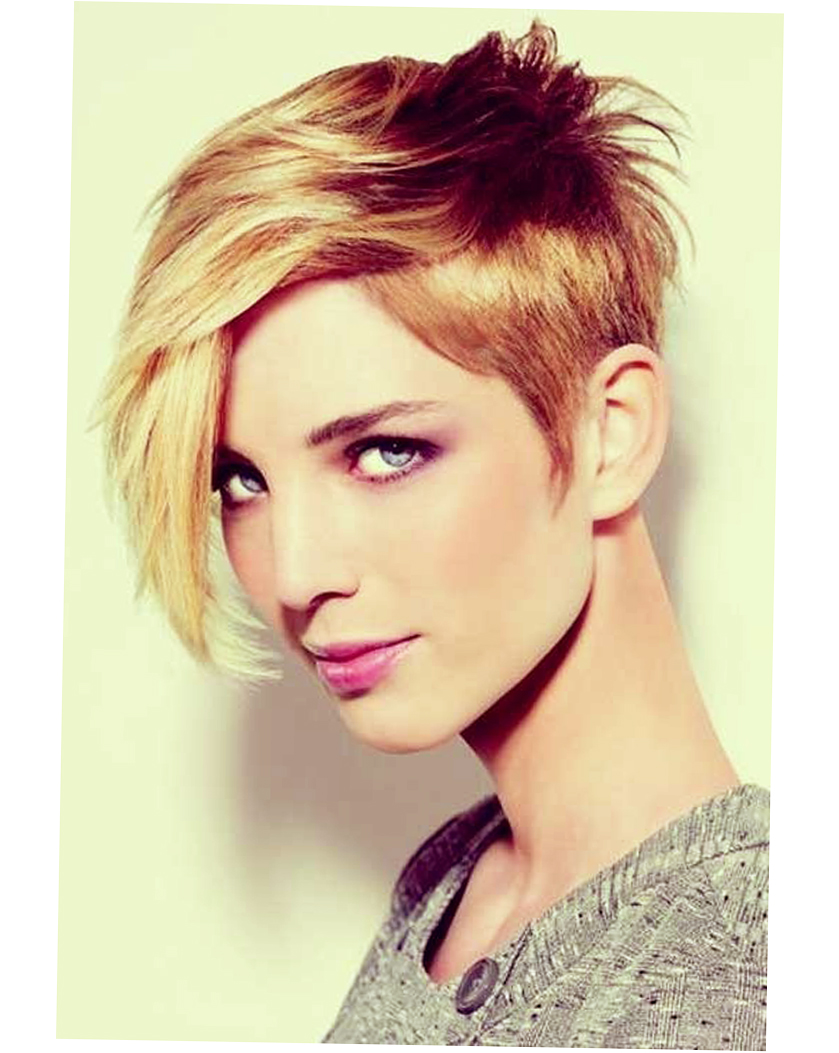 Womens Short Haircuts for Thick Thin Hair Round Face (With ...