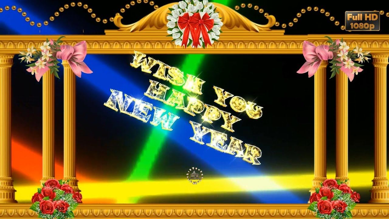 Happy New Year 2017 Wishes Whatsapp Video New Year Greetings Animation M Happy New Year 2017 Wishes Free Animated Ecards Happy New Year 2018