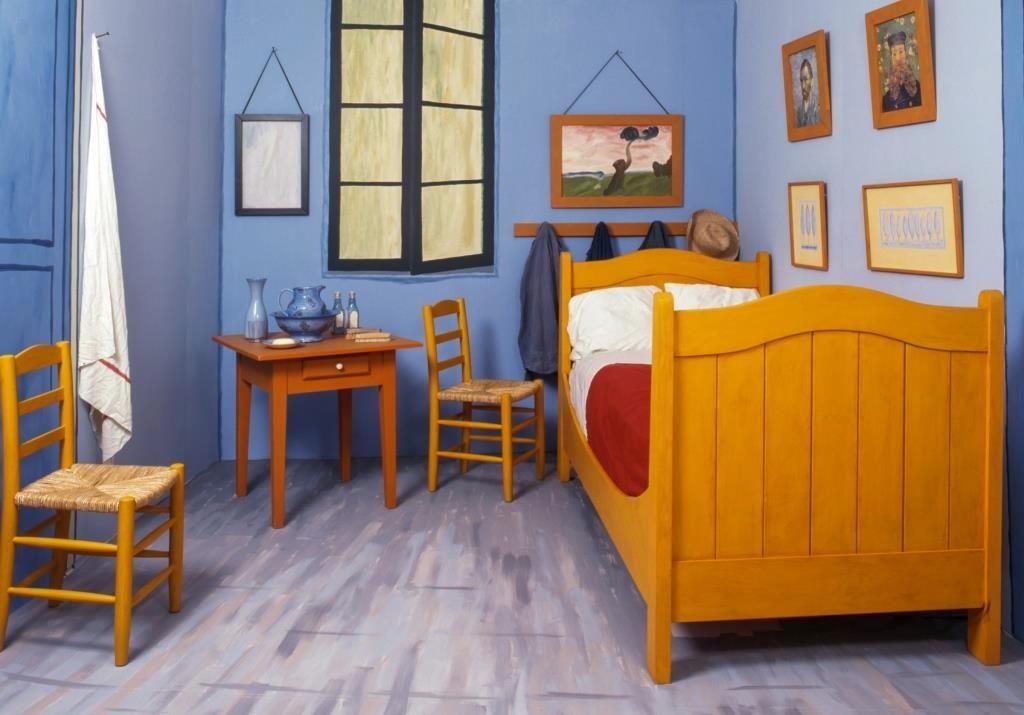 Vincent Van Gogh S Painted Furniture, Van Gogh Furniture