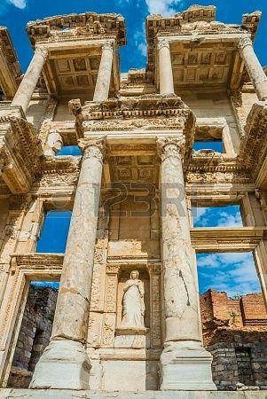 Ephesus Ancient Greek Ruins In Anatolia Turkey Ancient Greek Architecture Ancient Ruins Ancient Architecture