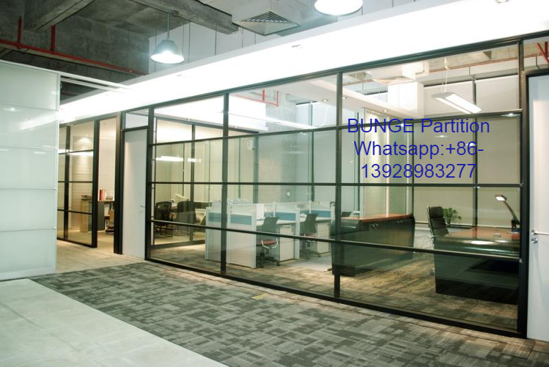 Bunge Company Not Only Produce The Sliding Glass Partitions But