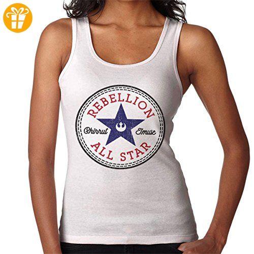 Star Wars Rogue One Rebellion Chirrut Converse Logo Women's Vest (*Partner-Link)