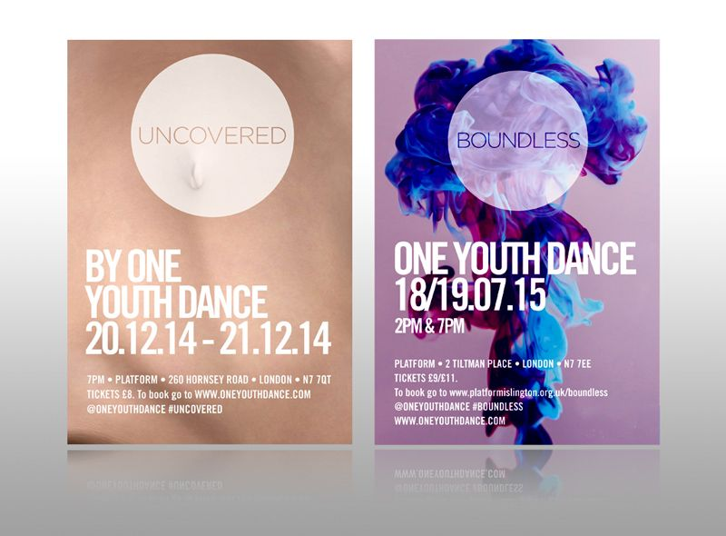One Youth Dance Leaflet Modrn Art Leaflet Design Uncovered Boundless
