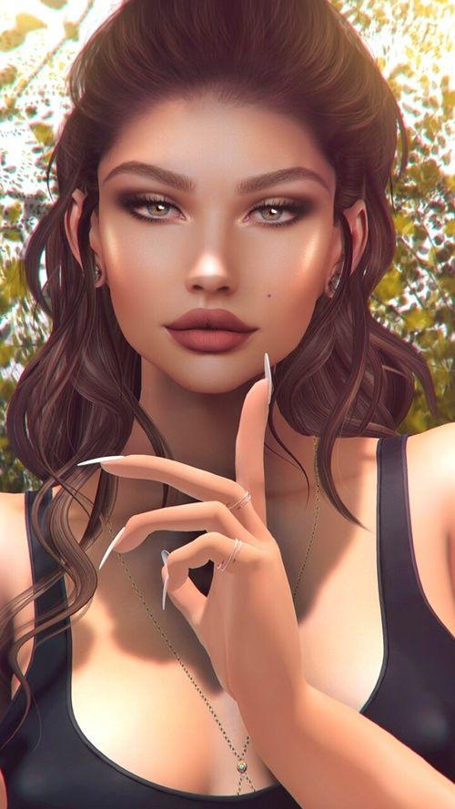 3D, 3D Art, Art, Art Girl, Artists, Background, Beautiful -3498