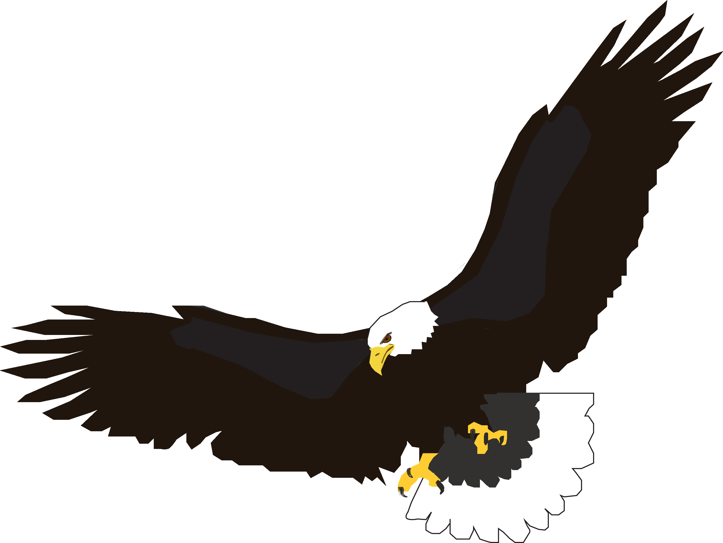 native cliparts art pinterest wings logo free clipart images rh pinterest com flying eagle clipart png animated flying eagle clipart