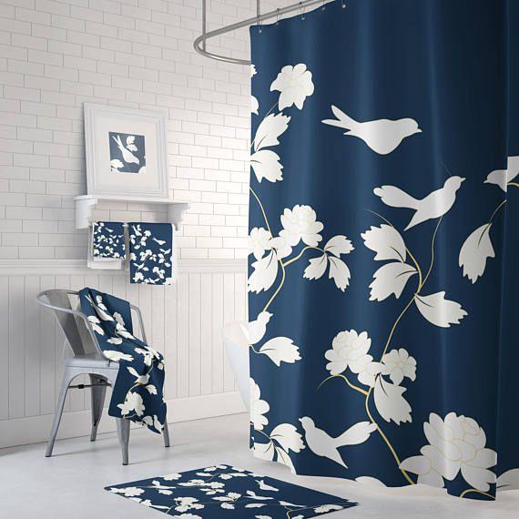 Bathroom Curtain, Bathroom Decor, Shower Curtains, Shower Curtain ...