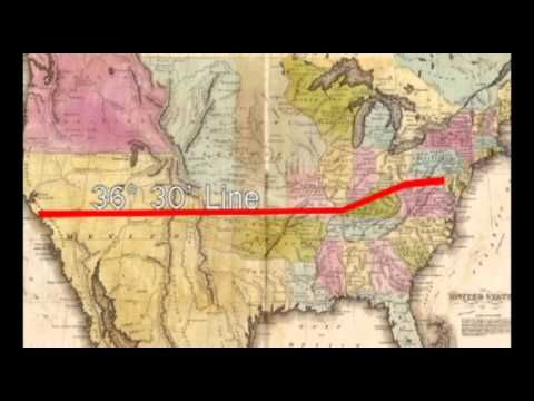 Week The Missouri Compromise An Informational Video - Missouri compromise interactive map