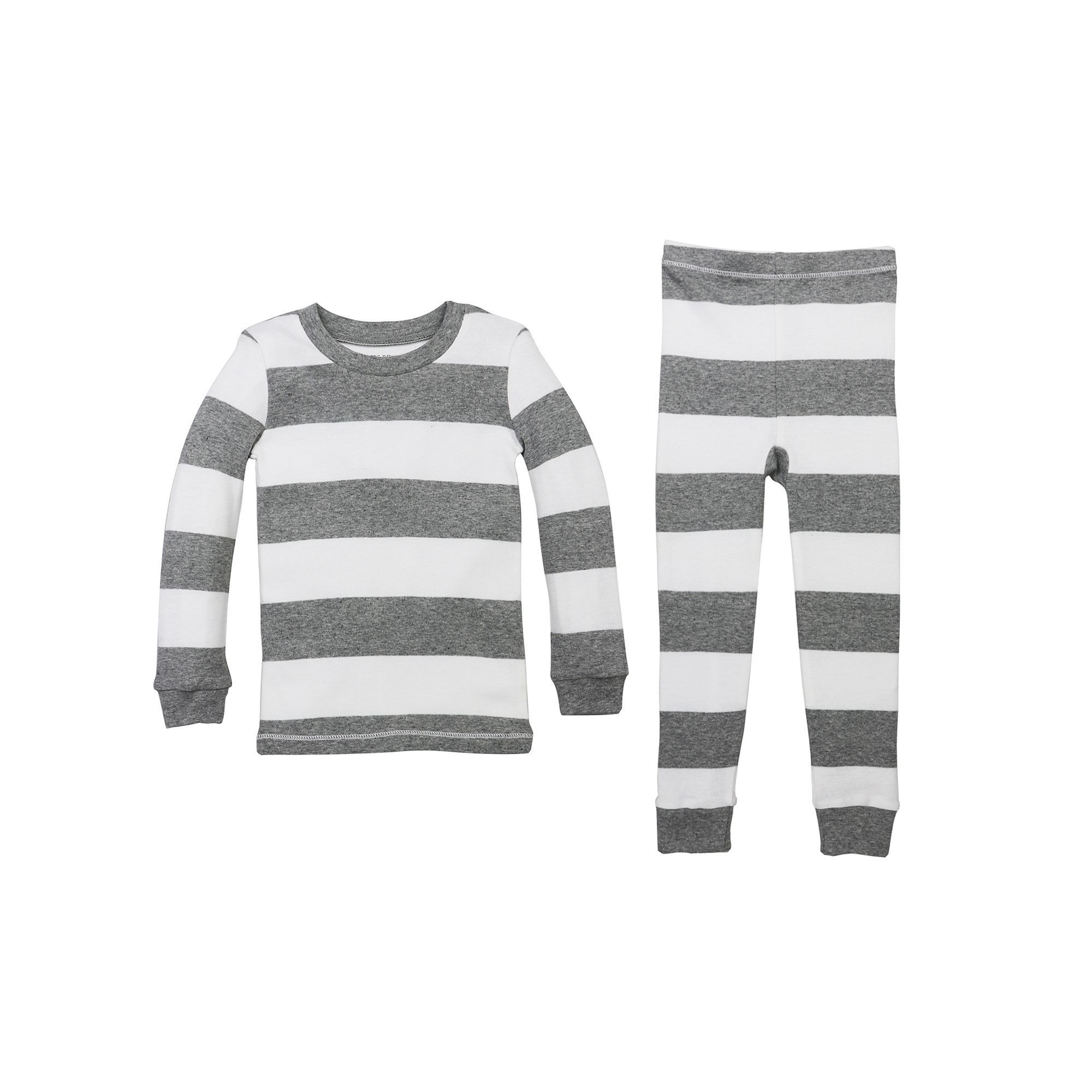 5d82213b549d Toddler Burt s Bees Baby Organic Rugby Stripe Pajama Set