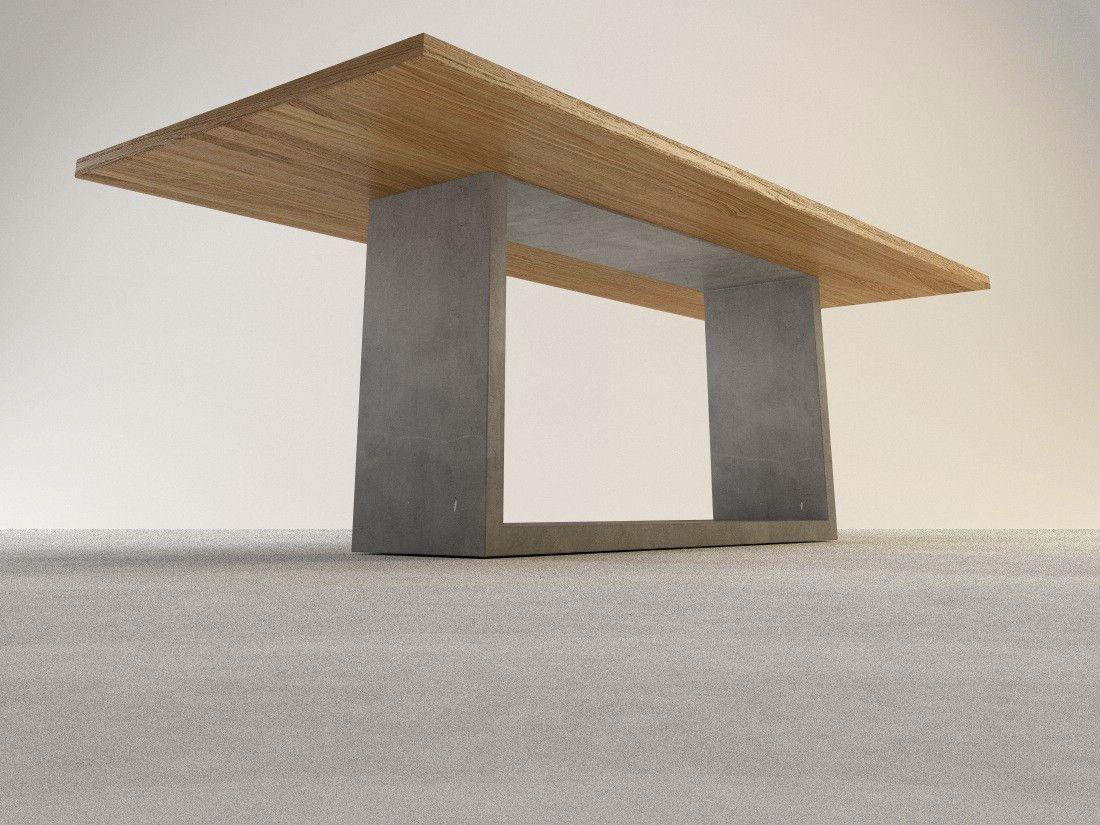 Arrangio Betontisch Elevato ✓ Hochwertige Betontische Auf Maß ✓ Designmöbel  Aus Beton Sowie Exklusive SOLPURI Outdoor Möbel Bei Arrangio.de