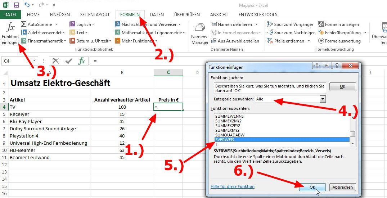 Excel Sverweis Nutzliche Funktion Excel Tutorial Lektion 16 In 2020 Excel Tipps Seitenlayout Lektion