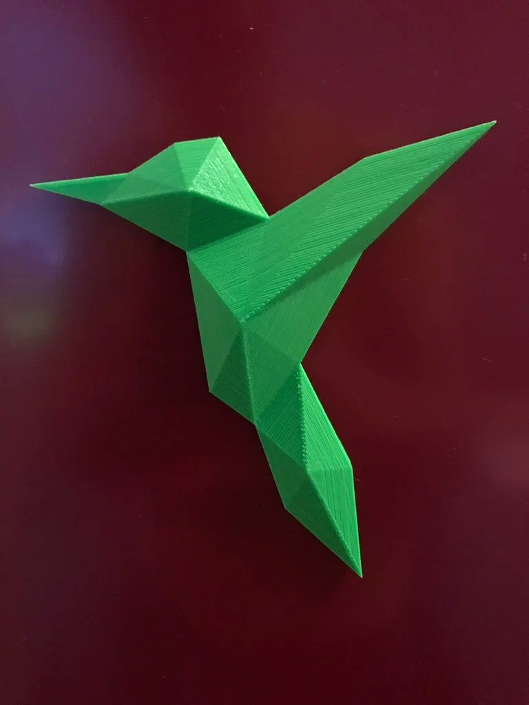 Photo of Origami colibri hummingbird by aculsch