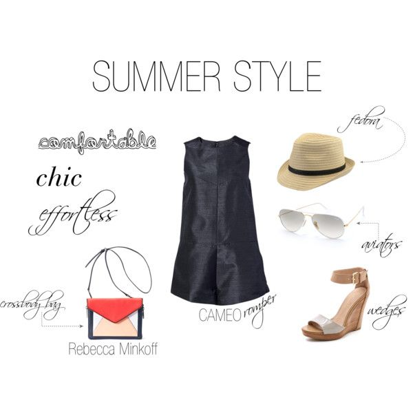 """Comfortable, Chic, and Effortless Summer Style"" by shopeluxe on Polyvore"