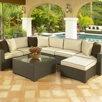 Melrose Sectional Furniture Collection. Resin Wicker Outdoor, It Would Look  Great In Screen Room