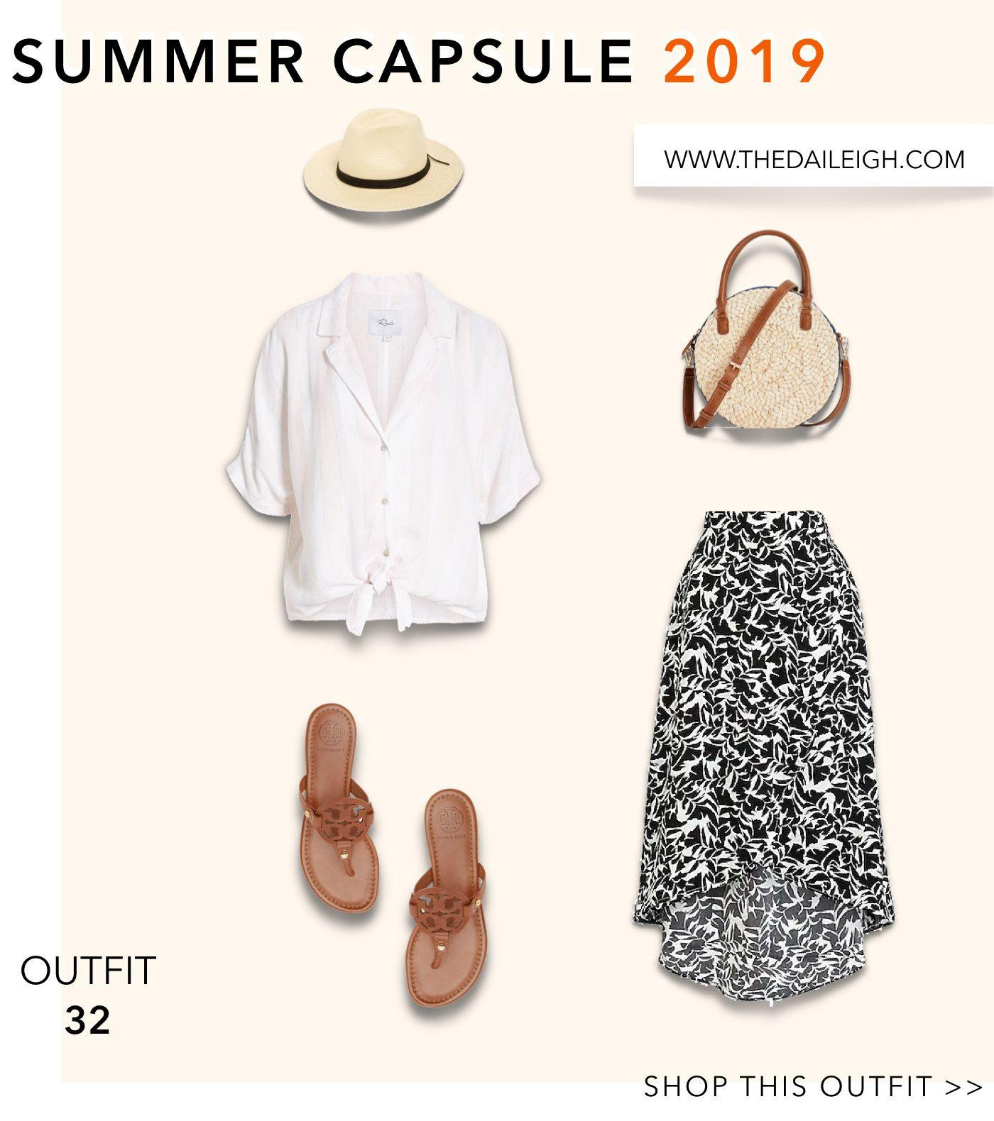 Summer Wardrobe Essentials, Summer Wardrobe Capsule, Summer Wardrobe Capsule 2019, Summer Wardrobe For Women
