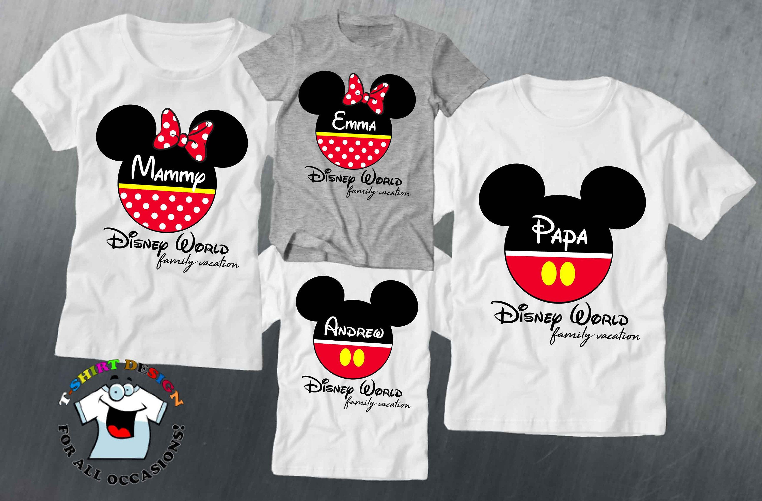 Straight Outta Disney Shirt For Family Vacation To Disney World Disney Land Mickey Mouse Disney Shirt Disney Vacation Best Selling Items