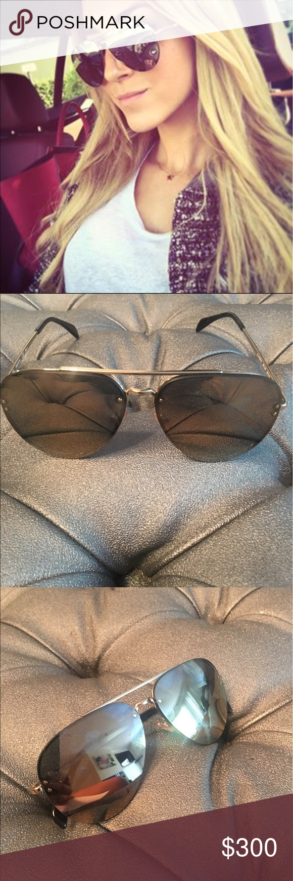 a85c900b4f36 Celine mirrored aviators Brand new Celine Aviators CL 41391/S J5G MV 60.  Luxury elegance and class defines this eye wear. gold/bronze mirrored lens  with ...