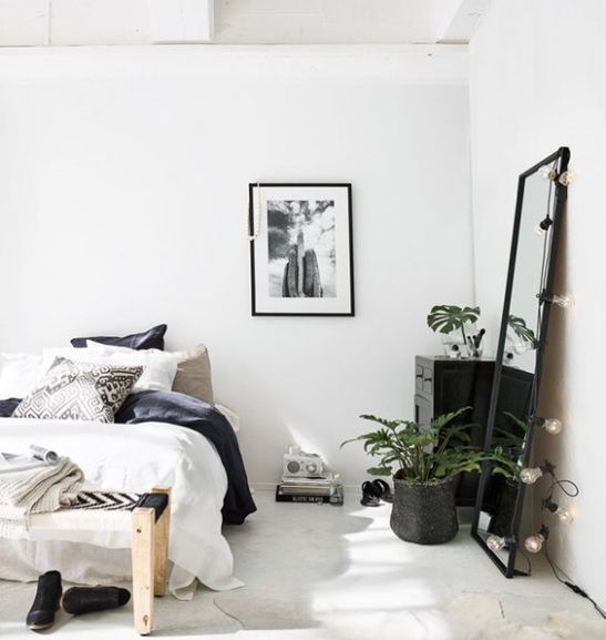 9 inspirational minimal bedrooms for a relaxing sleep for Minimal wohnen