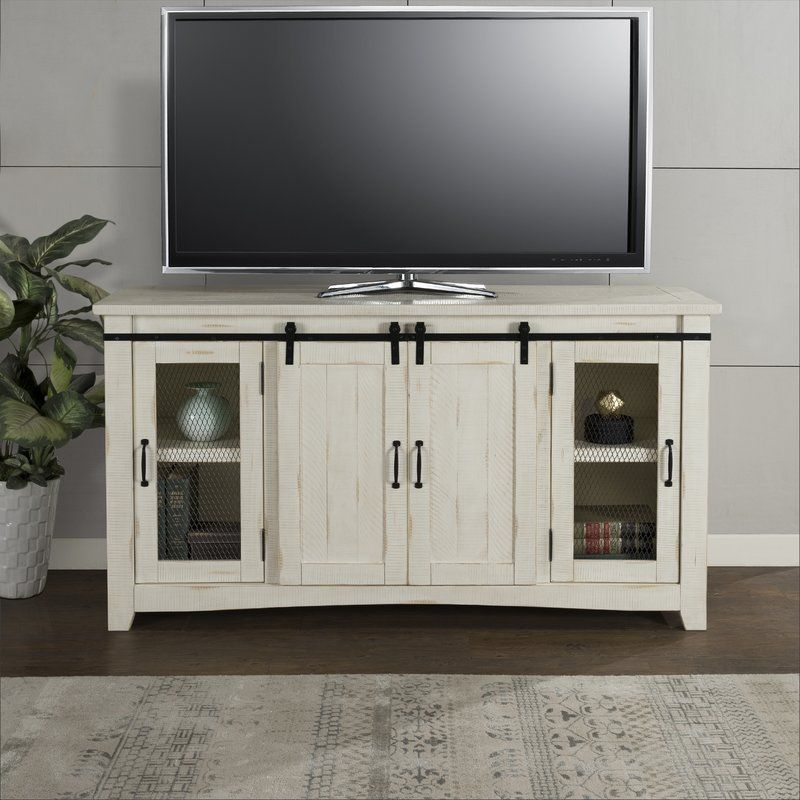 Belen Tv Stand For Tvs Up To 70 In 2020 Solid Wood Tv Stand Tv Stand Farmhouse Tv Stand