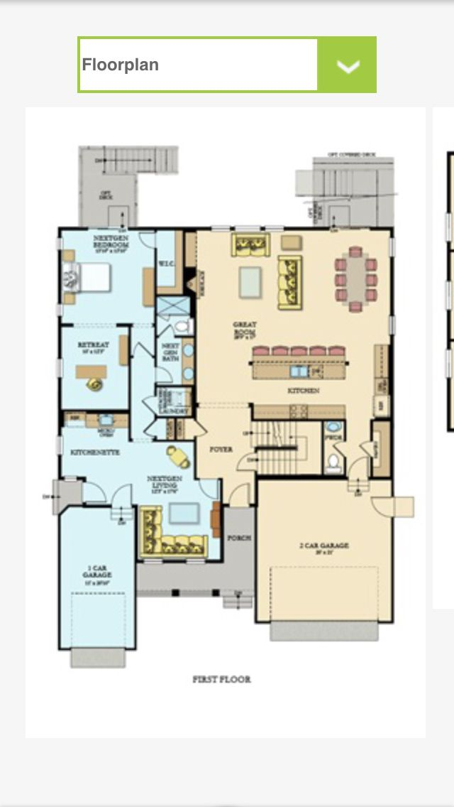 Our New Floor Plan Lennar Next Gen Superhome Multigenerational House Plans New House Plans Bungalow House Plans