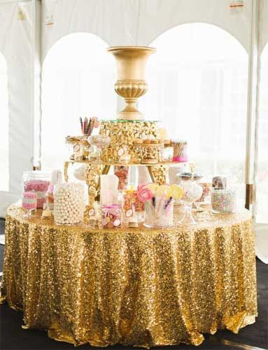 Candy bar dorado