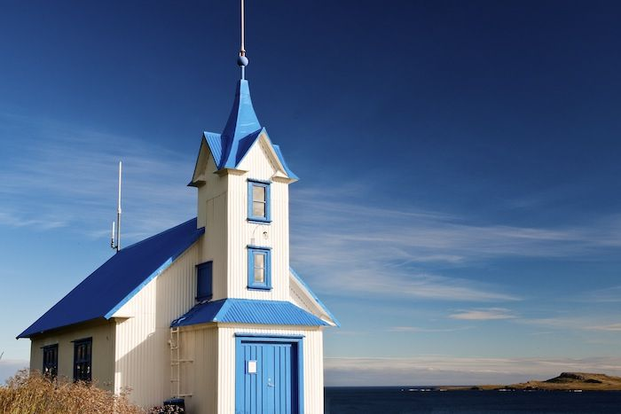 Picturesque Icelandic church