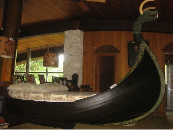 A Viking Bed!