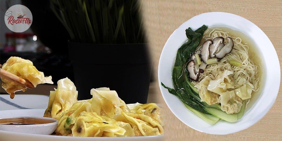 Resepi Mi Wantan Sup Dumpling Wonton Noodle In Dumpling Soup Recipe Wonton Resep Sup Resep Makanan