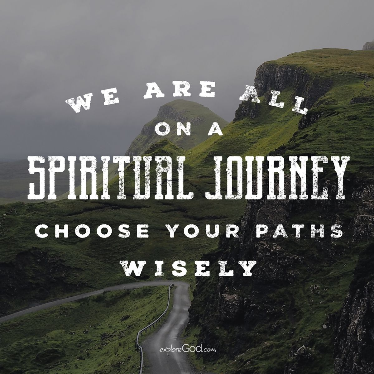 25 Best Life Journey Quotes On Pinterest: We Are All On A Spiritual Journey. Choose Your Paths