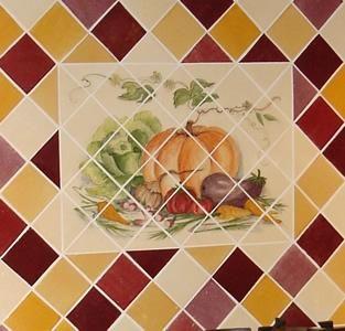 Fresque Murale Sur Carrelage Cuisine Idees Pinterest