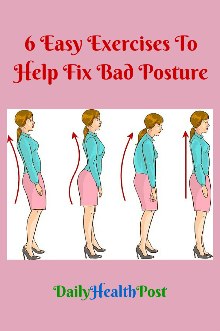 Slouching is an easy habit to get into, especially if you ...
