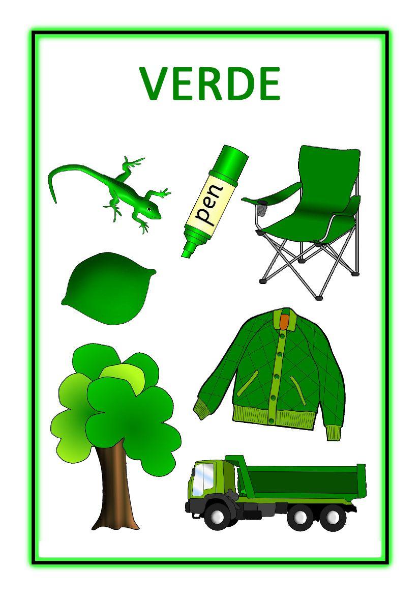 Atividades com Cores - Verde | Cor | Pinterest | Preschool ...
