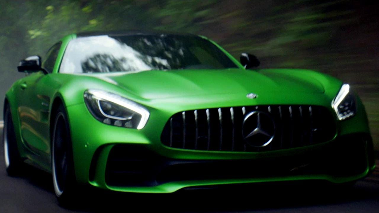 The Mercedes Amg Gt R Is Loose But As Lewis Hamilton
