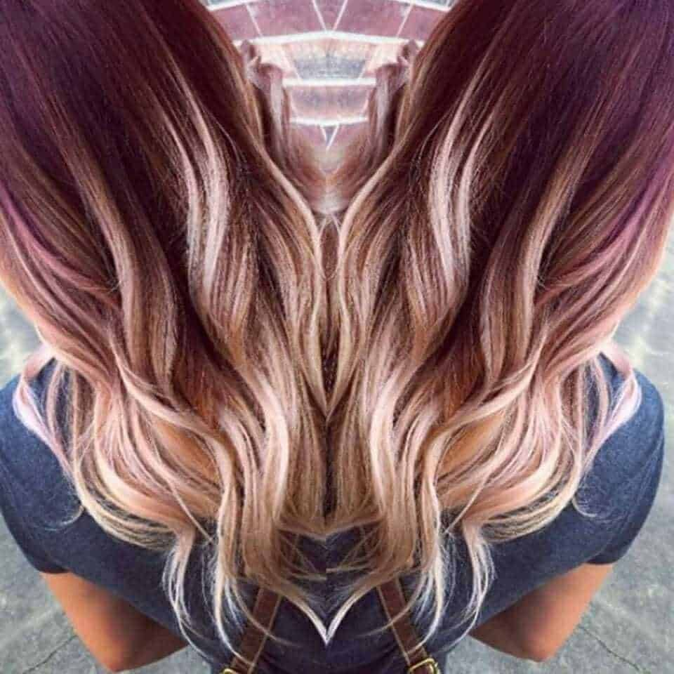 10 Ultra Cool Shades Of Winter Hair Color 2020 Ultimate Guide Ombre Hair Blonde Hair Styles Red Ombre Hair
