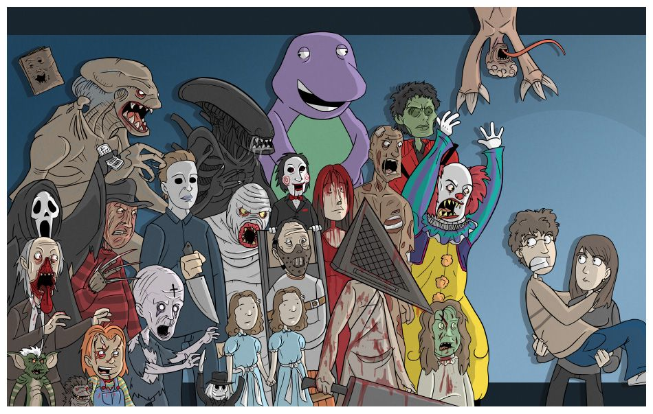Scary Movie Characters Horror Characters « Featured
