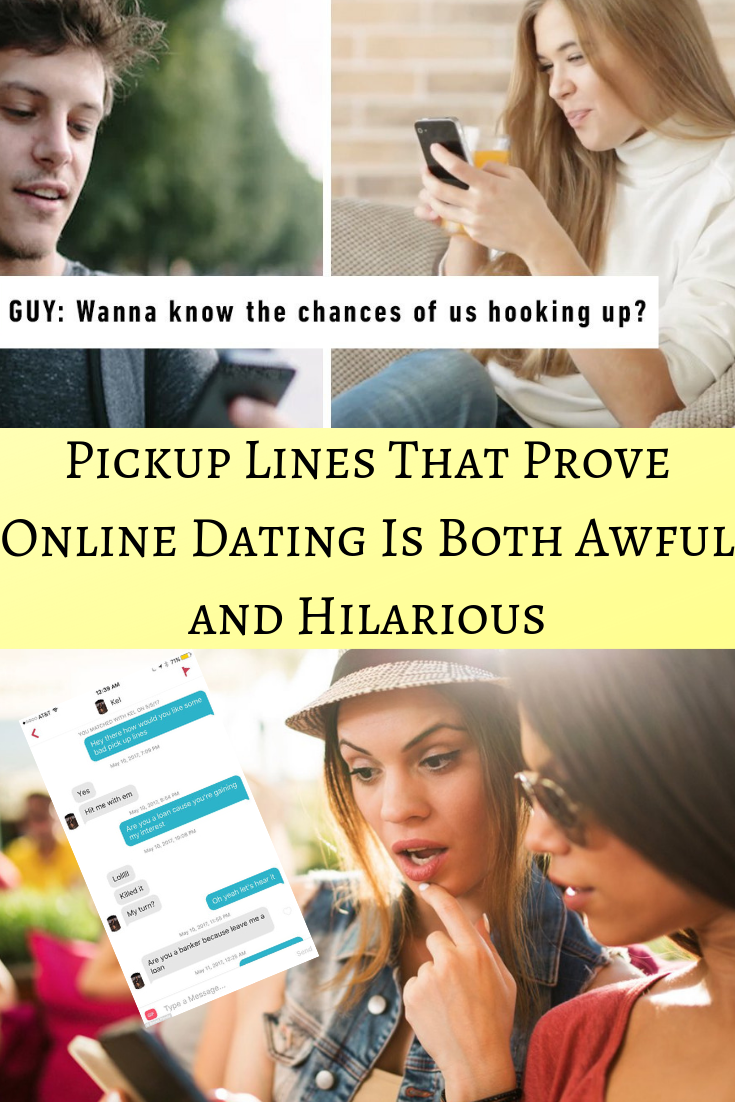 Pickup lines online dating