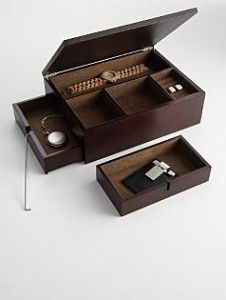 Secret Compartment Valet Jewelry Box Secret and Secure Spaces