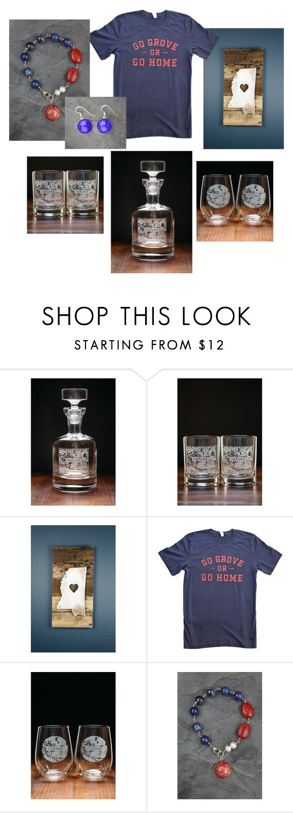 """""""Oxford, MS College Town Collection"""" by bourbonandboots on Polyvore featuring interior, interiors, interior design, home, home decor and interior decorating"""