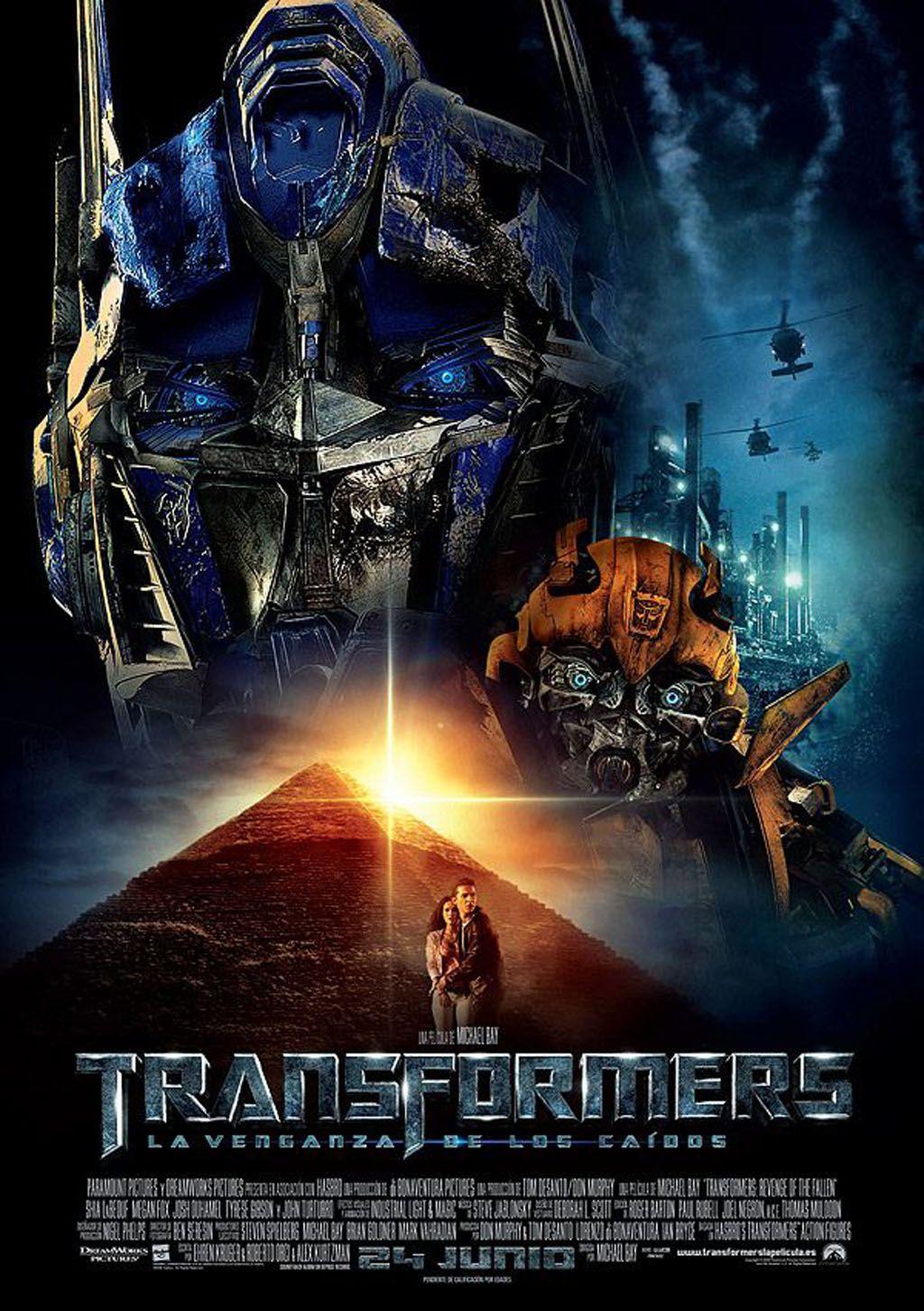 Transformers La Venganza De Los Caídos 2009 Revenge Of The Fallen Transformers Movie Transformers