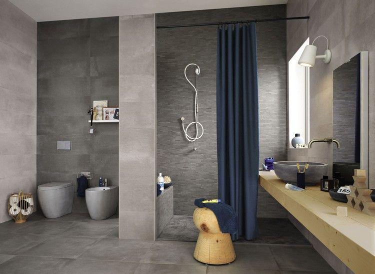 Carrelage mural salle de bain de design italien en 15 photos ...