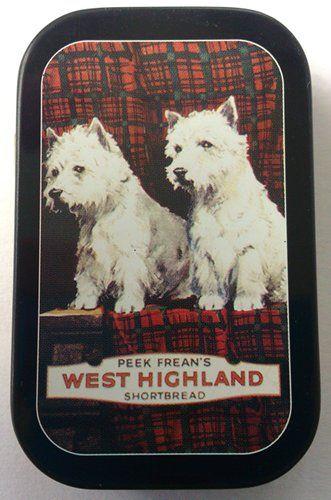 Peek frean's West Highland shortbread Terriers