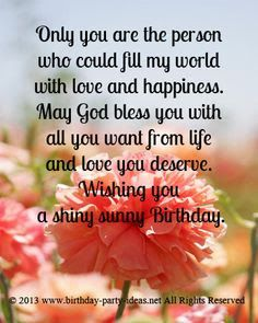 Birthday Wishes Cards For Love Ones Http Www Wishesquotez Com
