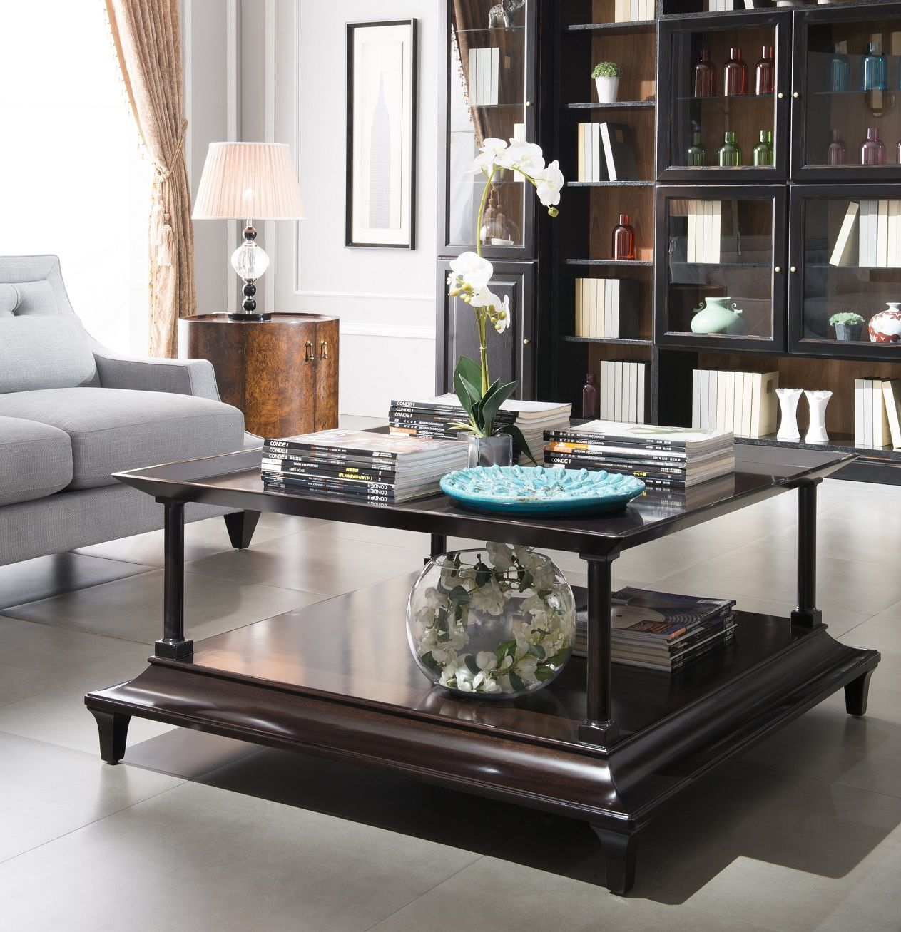 Decorating A Square Coffee Table Contemporary Living Room Furniture Sets Check More At Http