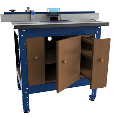 Space saving ideas to make the most of a small shop utilized kreg router table cabinet is one of the free plans at kreg tool company keyboard keysfo Choice Image