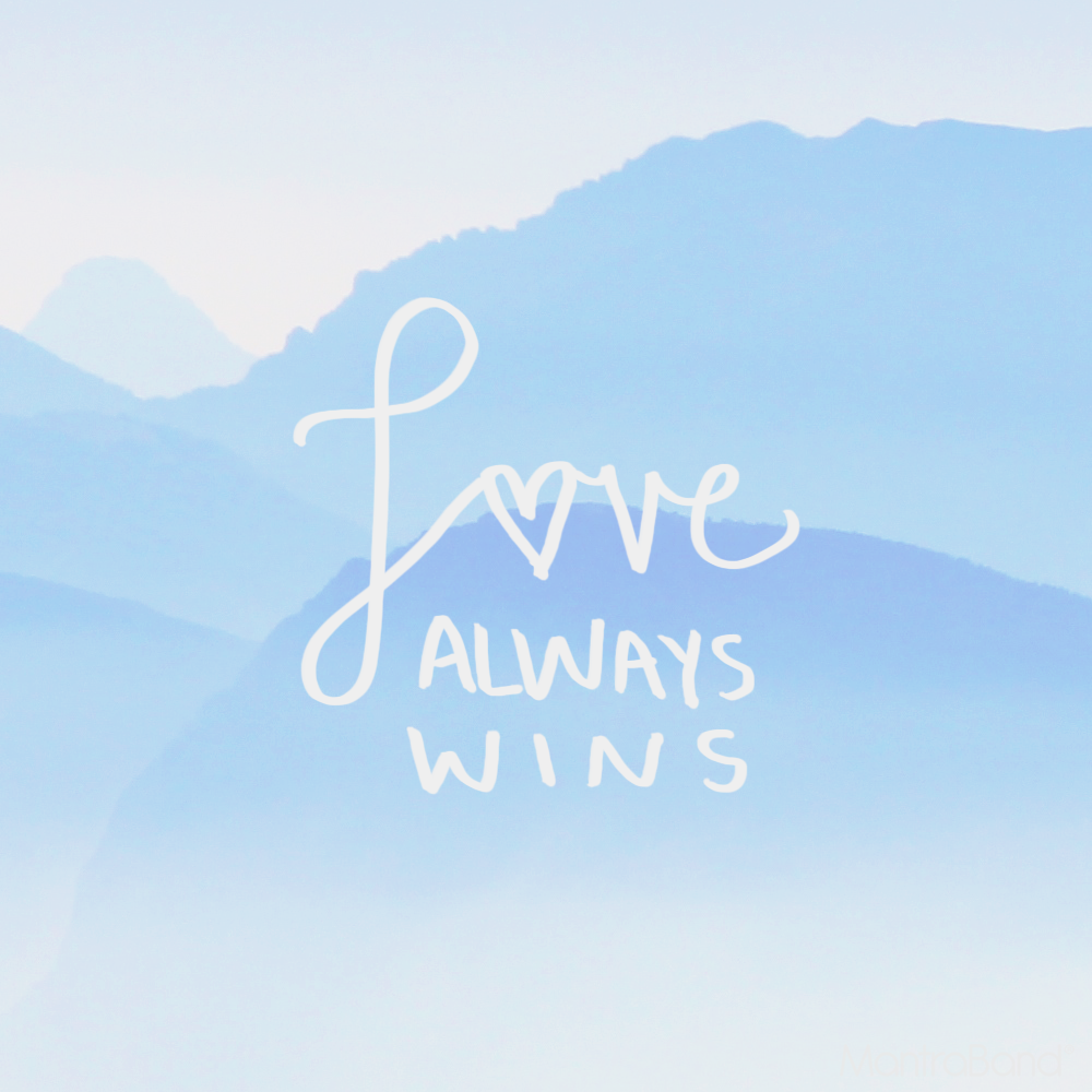 Love Always Wins Quotes Love Always Wins  Mantraband Bracelets Bracelets And Wisdom