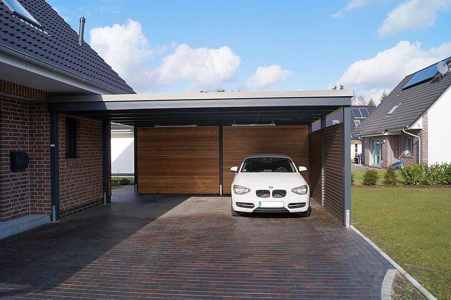 doppelcarport moderner stil carport balkon pinterest carport haus und garage. Black Bedroom Furniture Sets. Home Design Ideas