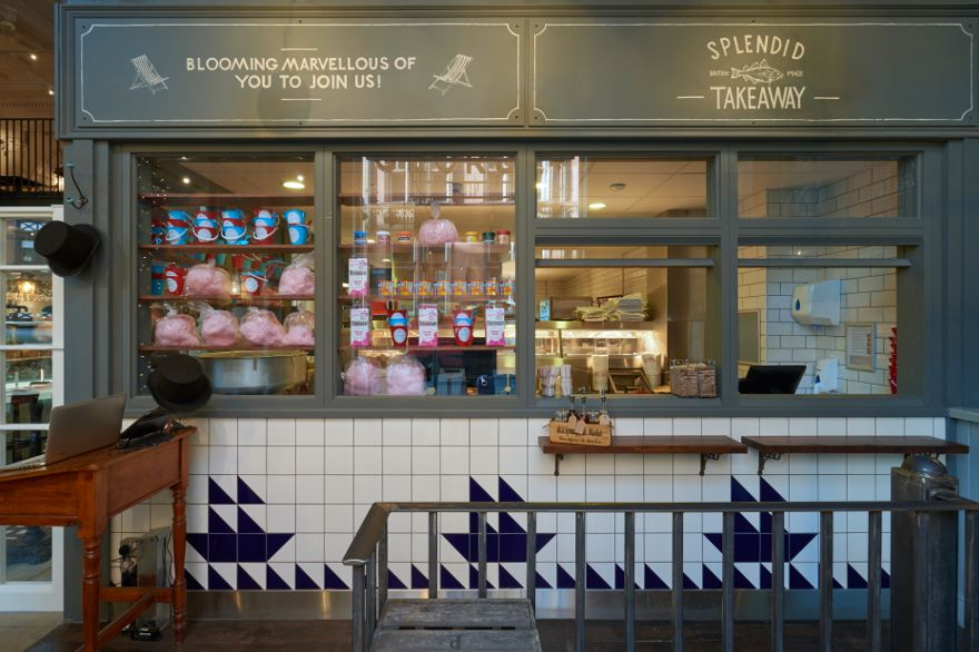 Kitchen Ideas Nottingham george's fish & chip kitchen: philip watts design - restaurant