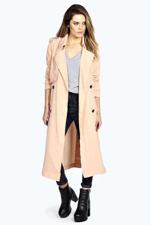 489d7f2236f Amelia Fluid Trench Coat / $60 | Mandatory Fall Coats | Coat ...