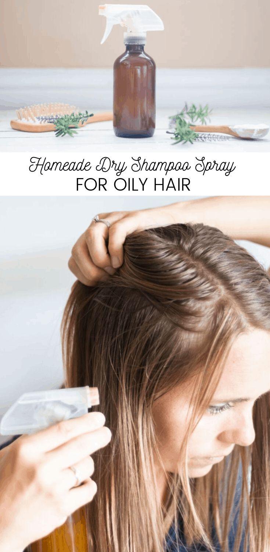 How To Make Dry Shampoo Spray Recipe In 2020 Oily Hair Dry Shampoo Hair Growth Oil