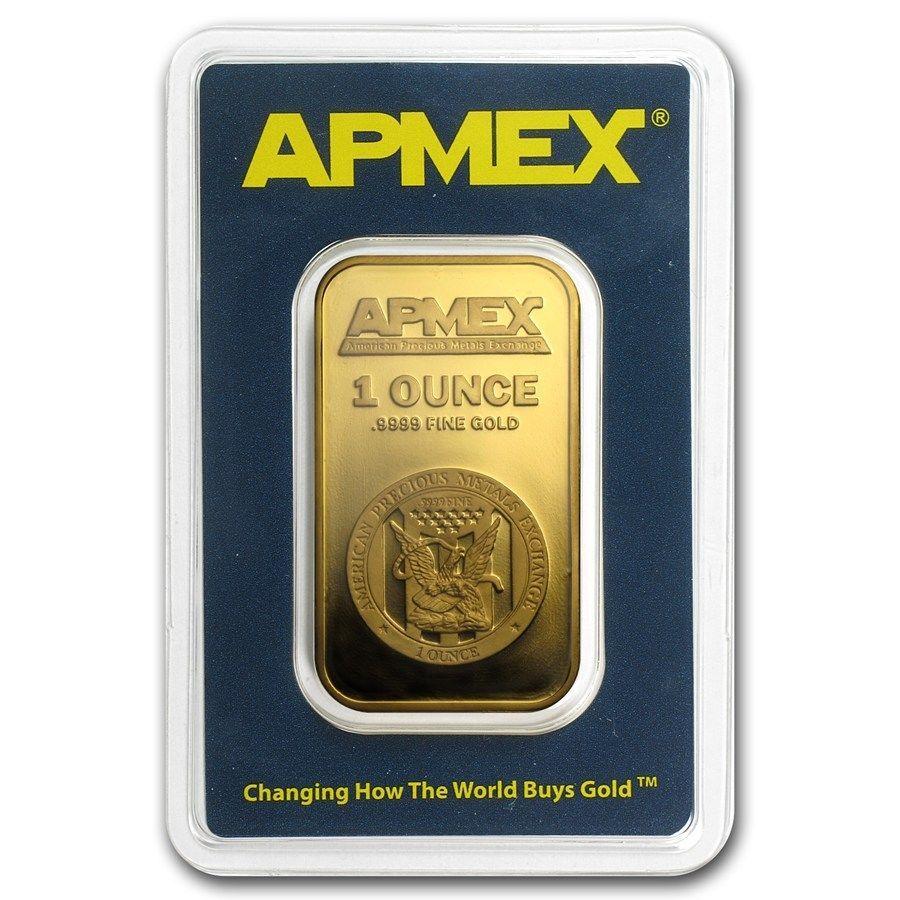 Special Price 1 Oz Gold Bar Apmex In Tep Package Sku